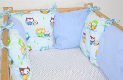 Modułowy ochraniacz do łóżeczka 6 szt N11