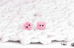 kolczyki urocze świnki