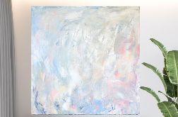 Jasny obraz abstrakcyjny 90x90