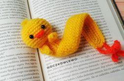Zakładka do książki - Szydełkowa - Kurczak