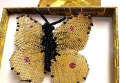 broszka motyl Rusałka