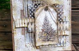 Kartka świąteczna bożonarodzeniowa