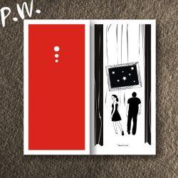 Elegancka Karteczka Ślubna DL II