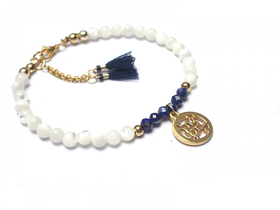Muszla & Lapis lazuli - Szlachetna kolekcja -