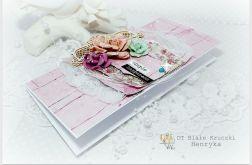 Kartka z życzeniami pastelowy róż