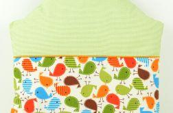 Poduszka dla dziecka 40x40 Domek ptaszka
