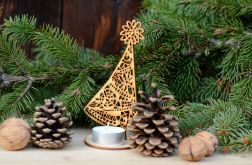 Choinka ażurowa #1 - dekoracje świąteczne