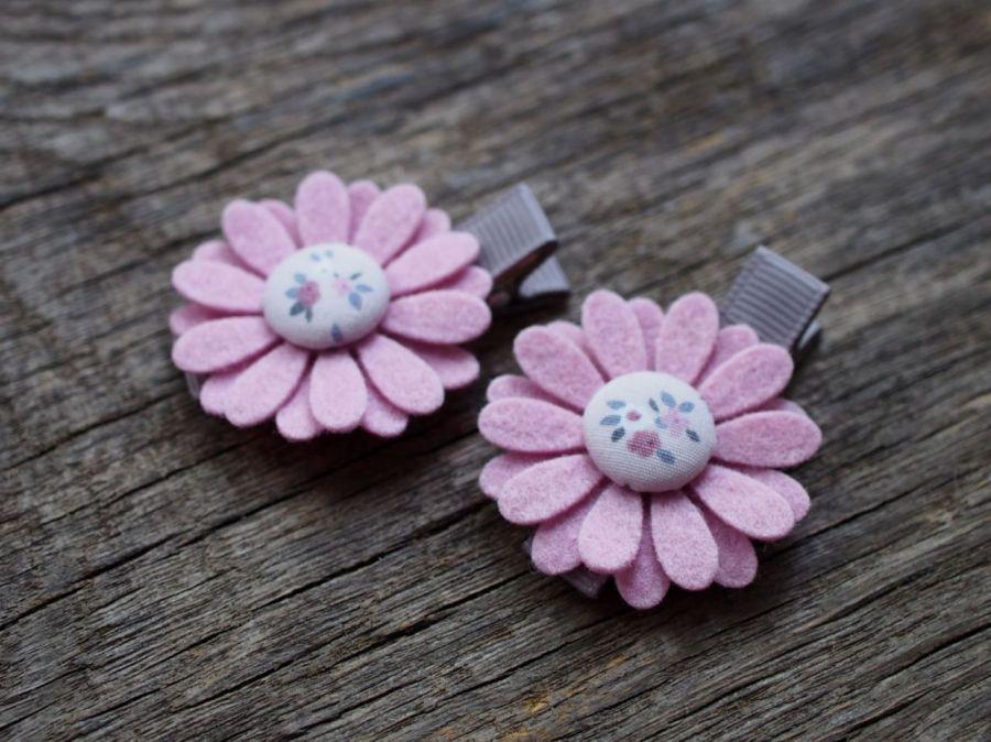 Spinki do włosów kwiatki 1025