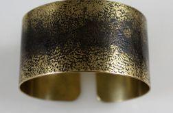 Mosiężna bransoleta - cień