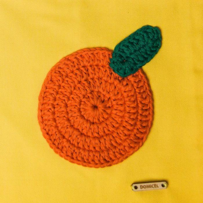 Torba EKO z pomarańczą - duża