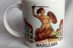 Kubek WARSZAWA - syrenka
