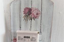 Zawieszka na kalendarz Róże vintage