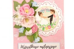 kartka ślubna #596