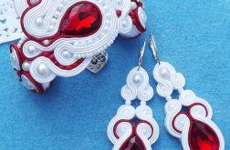 Biel & Czerwień II komplet ślubny sutasz