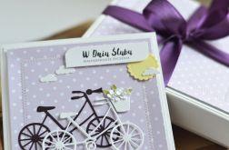 W DNIU ŚLUBU rowery w pudełku