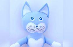 Blue kotek przytulanka,maskotka 50 cm.