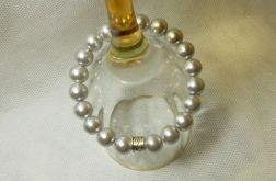 52. Bransoleta z pereł szklanych 10mm