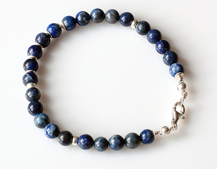 Lapis lazuli - bransoletka