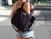 Duża torba shopperka MC6 - black