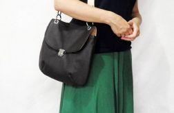 Elegancka skórzana torebka w stylu retro