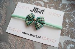 zielona opaska niemowlęca elastyczna