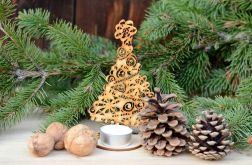 Choinka ażurowa #3 - dekoracje świąteczne