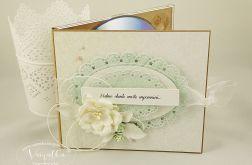 Folder na CD z sesji ślubnej #2