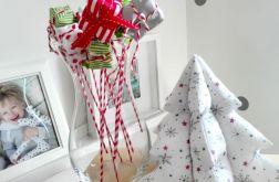 Choinka świąteczna Gwiazdki Śnieżynki