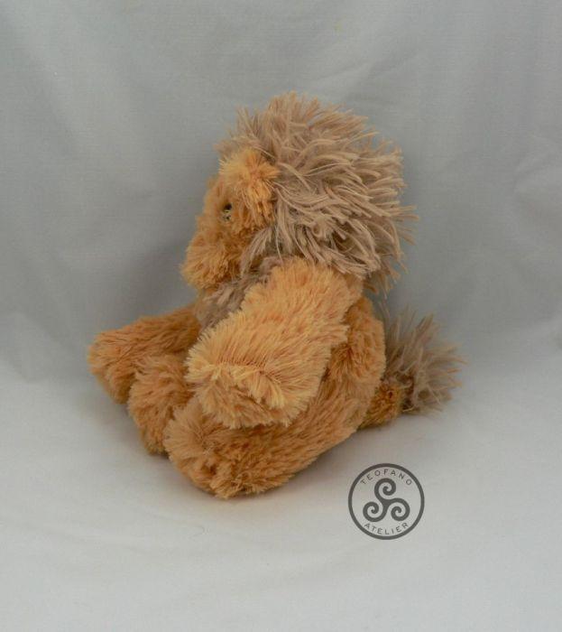 Pluszowy lew - lion