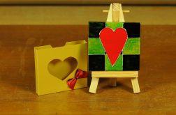 Walentynkowa kartka-magnes 9
