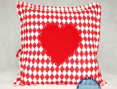Poduszka z sercem