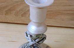 Recykling - wyjątkowy świecznik, rękodzieło