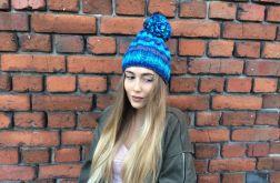HiMalaya zimowa czapka odcienie blue