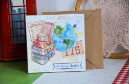 Kartka - Kochanej Babci