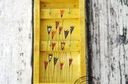 Wieszaczek na klucze tulipanki