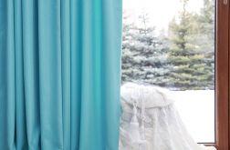 Zasłona glamour z połyskującej tkaniny 13