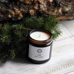 Zapachowa świeca sojowa CEDR