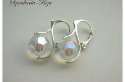 Nowość Kolczyki Swarovski Elements Beads Moonlight