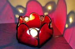 Lampion Natchnienie Serca Tiffany