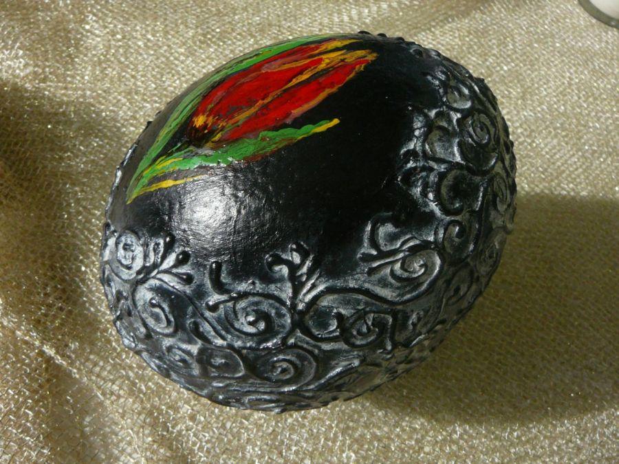 Jajko Strusia na Życzenia Tulipan