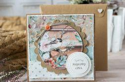 Piękna jesienna kartka. Personalizacja (j01)