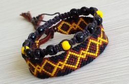 "Zestaw ""black, brown & yellow"""