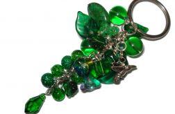 Breloki - zielony koliber