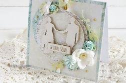 Kartka ślubna w pudełku, 477