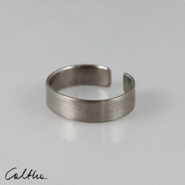Satyna - srebrny pierścionek 191020-03