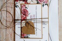 Zaproszenia ślubne jednokartkowe # 1
