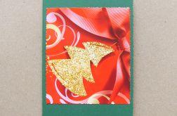 Kartka świąteczna - choinka 8
