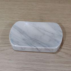 Mydelniczka Bianco Carrara Marmur 13x8cm