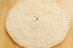 Dywan okrągły sznurek bawełniany