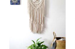 Makrama dekoracja w stylu boho ozdoba ścienna